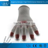 Qianglun ladies hand gloves with PU dipped garden gloves