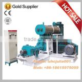 Single screw floating fish feed pellet machine, fish feed extruder machine, fish feed pellet plant