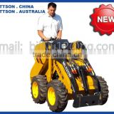 mini skid steer loader for landscaping gardening like kanga bobcat toro dingo boxer viking