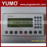 "Kinco 4.3""STN Single Color HMI Text MD224L 192 X 64 20 Keys Programming Cable Software Text Panel HMI"
