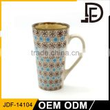 Drinkware ceramic 16oz tall coffee mug sublimation ceramic, hand painted coffee mugs ceramic