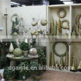 mini / huge artificial christmas pine tree / ring / flower for home / hotel / office (new christmas combination of Este-006 )