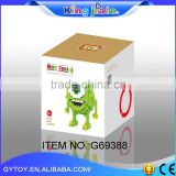 China supplier high quality educational wooden tool set toy , wooden block , block toys