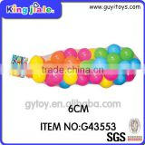 Safe Material Certificated Ball Custom Plastic Toy For Kids