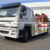 hot sale Euro2 310HP 6x4 howo RHD heavy recovery trucks sale