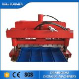 galvanized steel glazed roofing tile roll forming machine