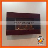 Modern Wall Mounted Electric Fireplace With CE