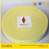 2017 Hot selling kevlar flat belt wick webbing for fire props