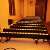 18PCS RGABW+UV 6in1 high power color wash indoor led wall washer for wedding party garden decoration