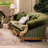 OE-FASHION living room furniture set wooden designs fabric sofa
