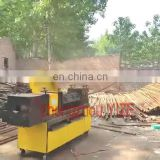 High efficiency rebar steel pipe bar straightening and cutting paint spraying machine