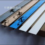 Custom hotel room decorative strip stainless steel trim