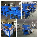 hydraulic double head ready made garment heat embossing pressing machine