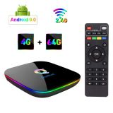 up to date Q Plus Android TV Box, 4GB RAM 64GB ROM STB  IPTV  TVBOX OTT