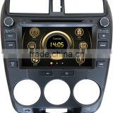 8 inch car dvd player for 2012 Honda City with GPS,TV,Bluetooth,3G,ipod,PIP,Games,Dual Zone,Steering Wheel Control