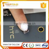 China Shenzhen Rfid Finger Nail Tag / Small NFC Led Nail Art Sticker