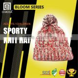OM2618 Scarf, Hat & Glove Sets O.MOSA 2G_6BH05 Mix Color sport knit hat