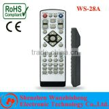 portable remote controller for car dvd player high-quality remote controller deliver fast