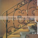 Frameless Glass Railing Security Metal Balustrade Staircase