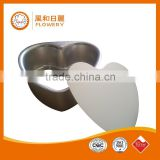 food grade baking dishes&pans aluminium non-stick teflon coating heart shape cake mould