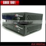 Good sales Ali M3606 HD indonesia set top box GBOX 1001 No need network,card Only a cable with Superior quality
