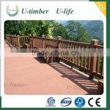 Direct factory weather resistant WPC wood fence panels wholesale