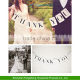 THANK YOU vintage Wedding Banner Bunting Venue Decoration Party Photo Props                                                                         Quality Choice