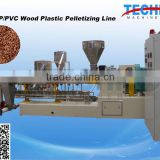 PE/PVC WPC Wood Plastic Pellet Machinery Manufacturer