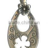 Plum Blossom Peace Clasp Pendant Plum flower necklace jewelry Plum Blossom Flower Enamel Pendant