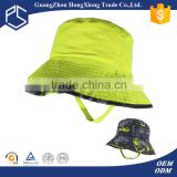 Buying online in china custom cheap reversible pretty green bucket hat