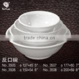 high quality cutomized unbreakable 100% melamine customized Plastic rice melamine cereal bowls