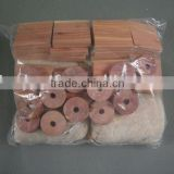 Aromatic Natural Cedar Block Cedar Ring Set