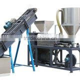 NEW PE PP Agricultural Film/PE Squeezer Ground film/PE Mulching Film Washing Line with Film Compressed Dryer