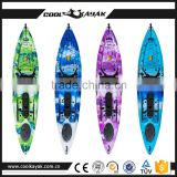 Cheap non transparent kayak fishing cheap boat with optional accessories wholesale for sales promotional of Halloween