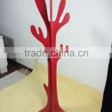 hot wooden clothes hanger tree