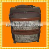 2012 travel fashion kids luggage leather whole sale vintage kids luggage mini good trolley bag