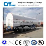 Professional transportation equipments semi trailer for cryogenic lox lin lar lco2 lpg gas