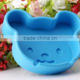 Cute animal shaped silicone ashtray with bright color in stock