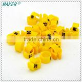 Maker Plastic Ring for Pigeon,Pigeon Foot Ring