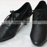 Girls Leather Modern Shoes Tango Waltz Quick Step Dance Shoes