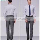 New men's trousers business casual men's wool trousers office suit/uniform dress pants