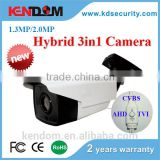 Popular AHD TVI CVI CVBS Hybrid Camera Hikvision Like Housing 960P 1080P HD Megapixel Surveillance Camera