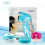Rechargeable electronic skin whitening face cleanser