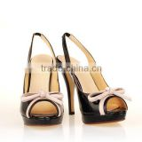WOMENS LADIES HIGH HEEL STILETTO Slingbacks PEEP TOE SANDALS