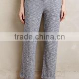 Wholesale Summer Women's Cotton Roll-cuff Casual Lounge pants
