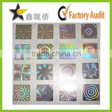 High security hologram sticker&tamper evident void sticker&security sticker