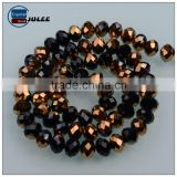 New arrival faceted wholesale beads round shape crystal jewelry beads jinhua manufacture beads for bags