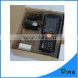 QSPDA3505 wireless courier pda with Laser POS Barcode Scanner and ticket printer android                                                                         Quality Choice