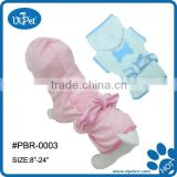 Dog Bathrobe cute Paw pattern apparel