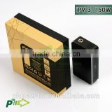 Hotest sell mechanical mod Original pioneer4you IPV3 150w box mod can upgrade to 165w big power yihiecigar sx330 v3s chip